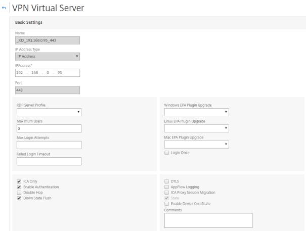 Installing & Configure Netscaler 12.x for XenApp