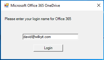 Mapping Network Drive to OneDrive for Business & Windows