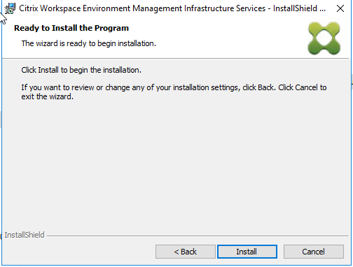Citrix Workspace Environment Manager 4 1 upgrade to 4 2