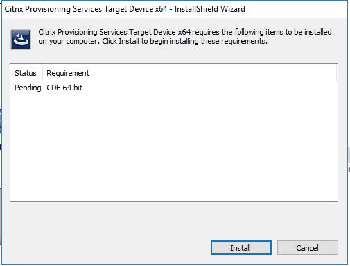 Citrix PVS 7 13 – Part 2: Create and Test PVS Image