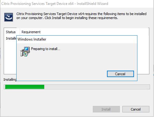 Citrix PVS 7 13 – Part 2: Create and Test PVS Image – Windows Server