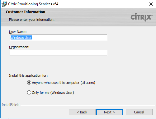 Citrix PVS 7 13 – Part 1: Installing PVS on Windows Server