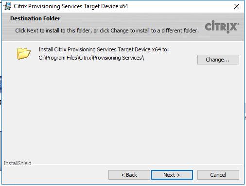 Citrix PVS 7 13 – Part 2: Create and Test PVS Image