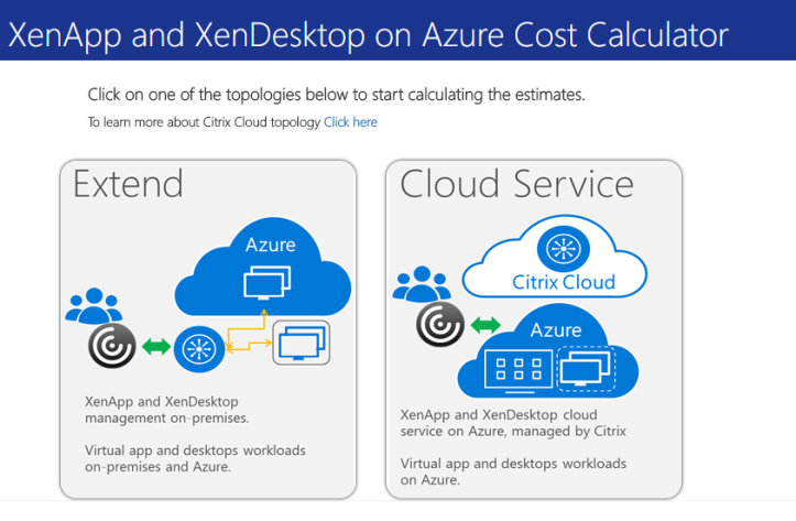 Deep dive into Citrix Cost Calculator for Azure – WilkyIT