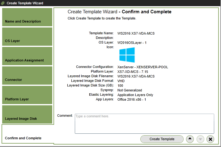 Citrix Application Layering 4 x – Creating App Layers