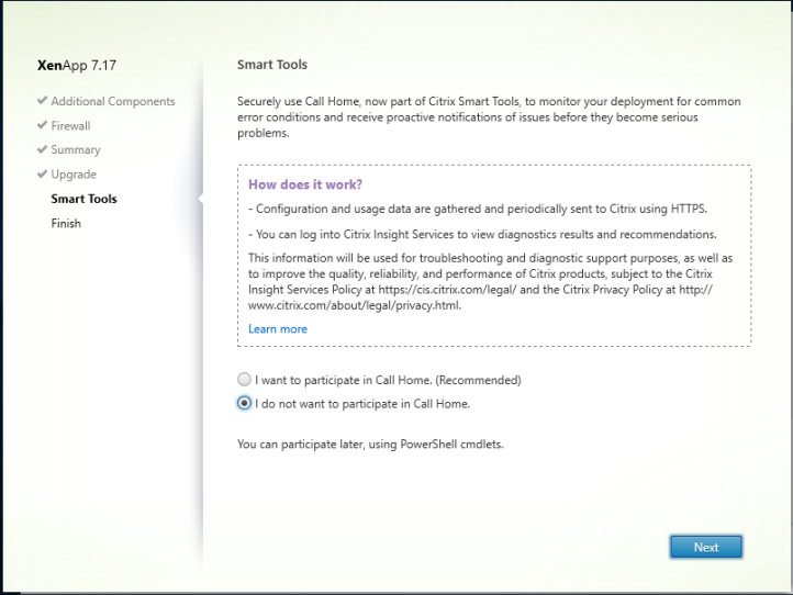 Upgrading Citrix Virtual Apps & Desktop 7 16 to 7 17 – WilkyIT – End