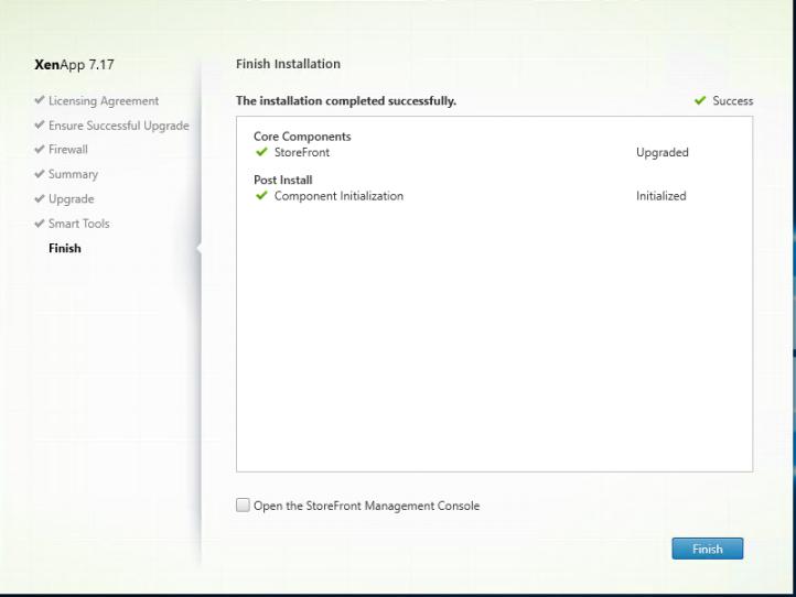 Upgrading Citrix Virtual Apps & Desktop 7.16 to 7.17