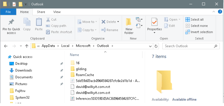 User Profile Disk & Office365 Outlook Cache – WilkyIT – End